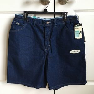 Lee At The Waist Stretch Jean Shorts Size 20W Med